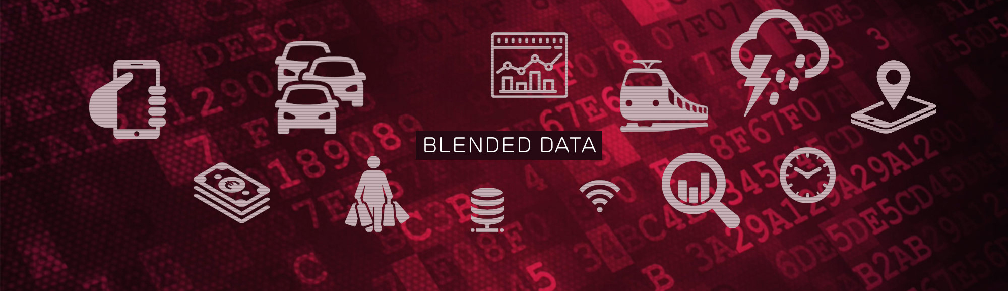 Blended data for optimal analysis